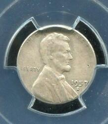Error Coin | 1957-d 1 Cent | Struck On Silver Dime Planchet | Pcgs Xf45 |rc13241