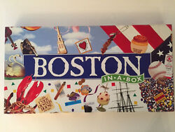 BOSTON IN A BOX MONOPOLY GAME LATE FOR THE SKY 100 % Complete Played 1X MINT