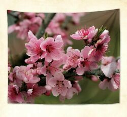 bedspread wall flowers spring summer flower wall hanging tapestry