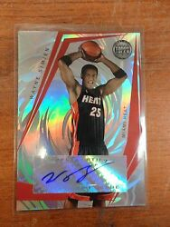 2005/06 Topps Signature Dunk Wayne Simien Miami Heat Autograph Card 03/190