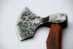 Hand Forged From 1085 Leaf Spring Steel Paran Style Chopper Of Blessing Tomahawk