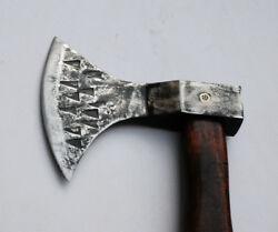 Hand Forged From 1085 Leaf Spring Steel Butcher Of Shadow Strikes Tomahawk