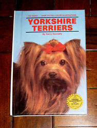 BOOK: Yorkshire Terriers Yorkies by Kerry Donnelly (1990 TFH Hardcover) 1st Ed