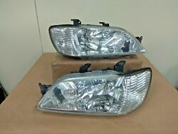 JDM MITSUBISHI CEDIA Cargo Lancer Headlights Heads Lights Lamp STANLEY OEM