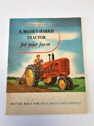 A Massey Harris Tractor For Your Farm Brochure