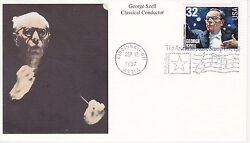 Mystic Stamp First Day Cover-1997 George Szell Classical Conductor Scott 3160