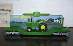 New John Deere 5010 Flat Bed And Tractor Hawthorne Village Express Car