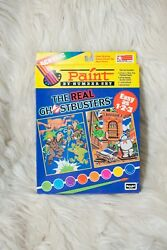 1989 Rose Art The Real Ghostbusters Paint By Number In Box Unused
