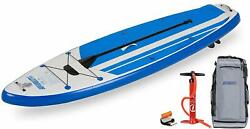 New Sea Eagle Hb96 Hybrid 9'6 Inflatable Sup Start Up Package