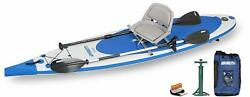New Sea Eagle Needlenose Nn126 Touring Sup New Swivel Seat Fishing Rig Package