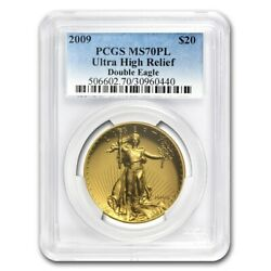 2009 Ultra High Relief Gold Double Eagle MS-70 PL PCGS - SKU #65313