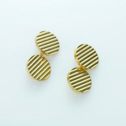And Co. 14k Yellow Gold Vintage Cufflinks