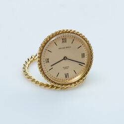 And Gold Travel Clock