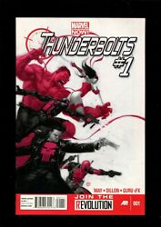 Thunderbolts  Lot 1-13 7.5-8.0 13 Issues Marvel Now Sr001