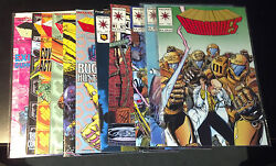 Armorines Lot 9.2-9.8 10 Different Issues Valiant Sr000