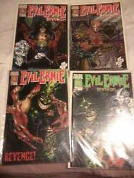 4 Comics Books Of Evil Ernie Revenge 1 2 3 And 4 First Printing In 1994