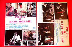 Buddy Holly Story X 2 1978 Gary Busey Don Stroud S.rash Unique Exyu Movie Poster
