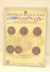 Vintage Historical Replica State Coins 1776-1787
