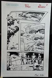 Sigil 26 Page 8 2002 Original Art Signed-scot Eaton And Andrew Hennessy-crossgen