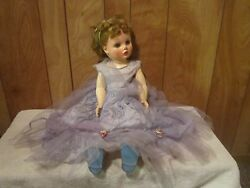 Vintage Cinderella Doll - In Original Dress And Shoes Made By Sayco