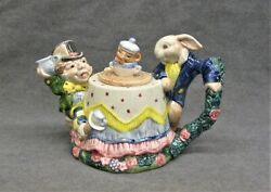 Mad Hatter Teapot By Fitz And Floyd