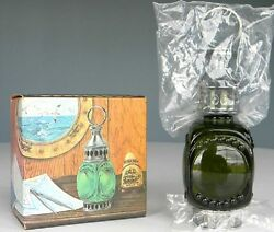Vtg 1974 Avon Whale Oil Lantern Wild Country After Shave-new In Box-free Ship
