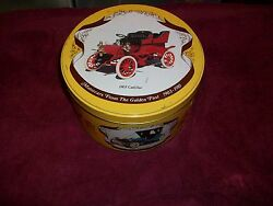 8 Round Tin Box Cars 1903-1910 Cadillac Ford Packardstanleyoldsmobile