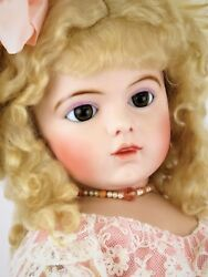 27 Bru 13 Dressed Antique Reproduction Doll By Connie Zink Of Land Of Oz Dolls
