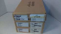 Lot Of 3 Cisco Unified Ip Phones Two Cp-7942g And One Cp-7941g