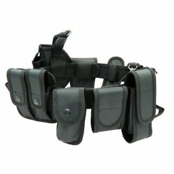 Tactical Military Utility Kit Belt Security Training Police Guard Duty Pouch Set