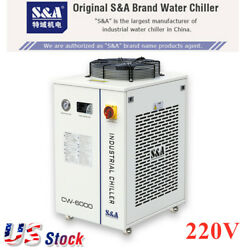 Usa Cw-6000bn Industrial Water Chiller For Solid-state Laser 22kw Cnc Spindle