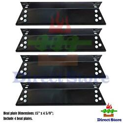 Replacement Kenmore Porcelain Steel Heat Plates 4pk Bbq Gas Grill Parts Cover