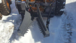 Budd Tree Puller W/quick Attach Plate For Skid Steer Loader Post And Shear New