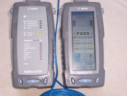 Hp/agilent Wirescope 350 Tests Cat 5 5e And Cat 6 And Rebuilt Batteries