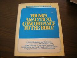 Young's Analytical Concordance To The Bible Corrected And Updated By Robert Yo