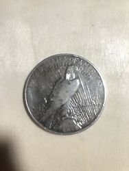 1922 D Peace Liberty Silver One Dollar Coin