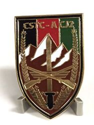 Rare Cstc-a Cj2 Camp Eggers Cia Hotel Oef Numbered 053 Challenge Coin