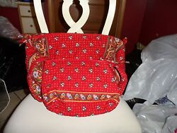 Vera bradley Small duffel bag and large cosmetic in retired Provincial pattern