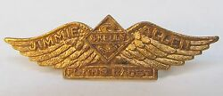 Small Odd Jimmie Allen Flying Cadet Wings Skelly Oil Radio Premium By Bandb