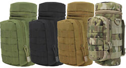 Condor Ma40 Modular Molle Hydration Carrier H2o Water Bottle Tactical Pouch