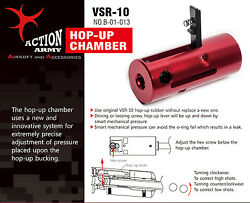 Action Army B01-013 Vsr10 Hop Up Chamber For Tokyo Marui Vsr10 / Well Taiwan