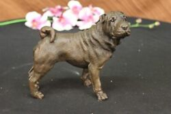 Bulldog Bronze Statues Animal Sculptures French Bulldog Desk Decor Hot cast DEAL