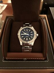 Breitling Colt Automatic -41mm -stainless Steel Bracelet And Leather Strap