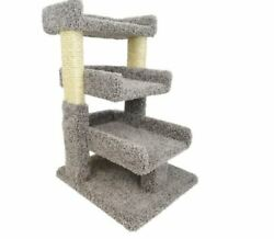 Cat Towers And Condos Scratch Lounge Trees House Triple Perch House Gray