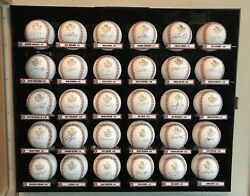 2017 Houston Astros World Series Autographed Baseball Collection Full Roster 30