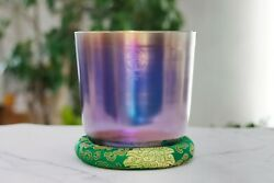 Alchemy Planet Quartz Crystal Singing Bowl For Healing Perfect Note E 3rd 8