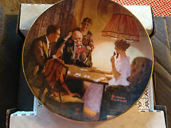 Collectable- Vintage. Norman Rockwell's This Is The Room That Light Made Plate