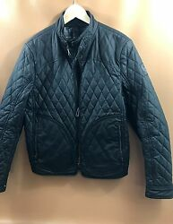 #396  Belstaff Welbeck Blouson Waxed Quilted Jacket Size 40  RETAIL $750
