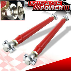 Rear Red Adjustable Toe Arms Rod For 2016-2019 Chevy Camaro 16-19 Upgrade