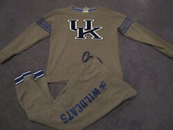 Nwt Victoria's Secret Pink Kentucky Wildcats Uk Outfit Top Small Pants Large
